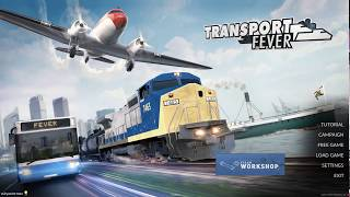 Transport Fever EP 1 ►Europe 1850 Sandbox!◀ Simulator Games 2017/Gameplay/Let