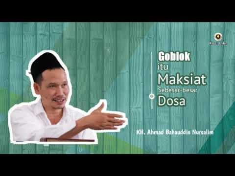 Goblok Itu Maksiat :: Gus Baha ( Kh Ahmad Bahauddin Nursalim )