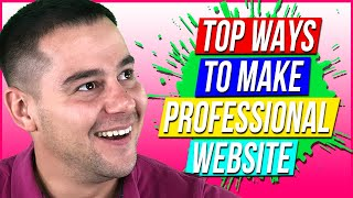 How to Make Awesome Website For Business🔥
