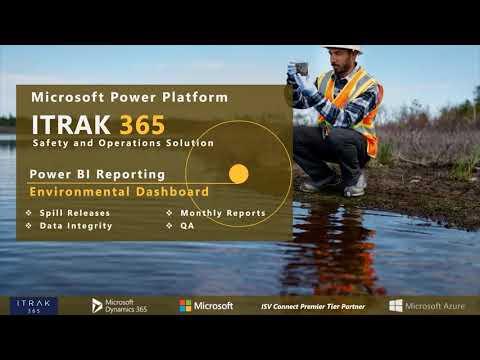 ITRAK Reporting: Environmental Dashboards