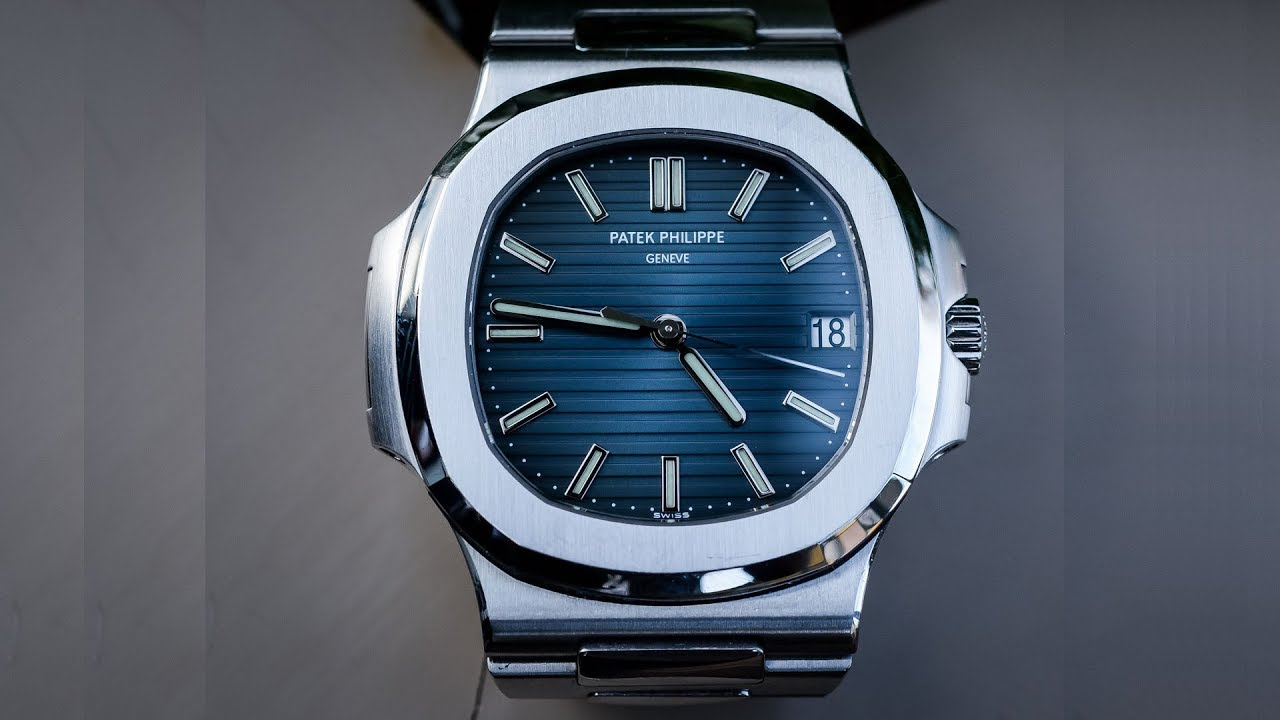 Patek Philippe Nautilus 5711 1a 010 Blue Dial 40mm Stainless Steel