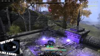 ESO V14 Sorcerer How To PvP Like A BAWS #4