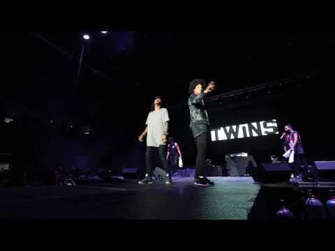 LES TWINS | Live onstage in McALLEN TX | Shot by Sandy Lee