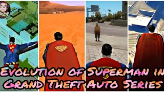 Скачать Evolution Of Superman Mods In Grand Theft Auto Series