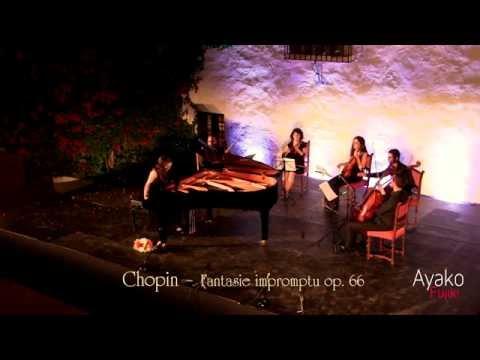 Ayako Fujiki - Chopin - Fantasie impromptu op 66 - Ayamonte International Music Festival