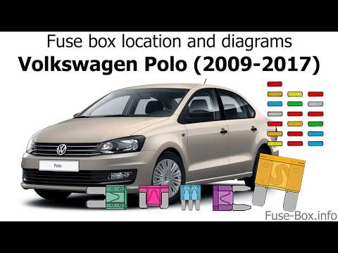 Fuse box location and diagrams: Volkswagen Polo (2009-2017 ...  Volkswagen Gti Fuse Box on