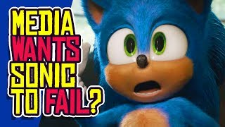 Sonic the Hedgehog: Media WANTS This Movie to Fail?!