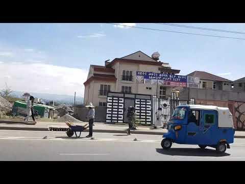 12. April 2020, Today Weather information Addis Ababa in Ethiopia street view, 에티오피아 아디스아바바 날씨