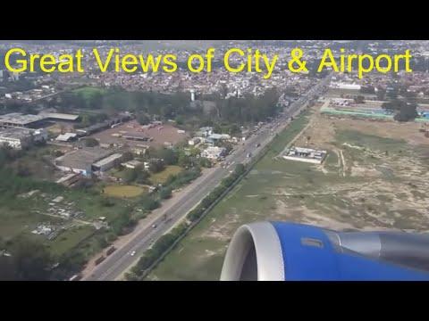 INDIA Lucknow Chaudhary Charan Singh Airport Indigo AIRBUS A320 : 6E 164 Takeoff