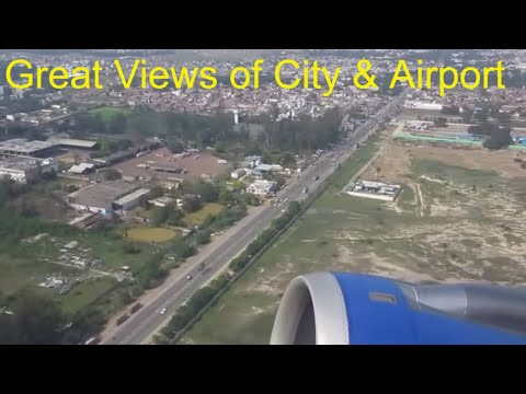 Lucknow Chaudhary Charan Singh Airport Indigo AIRBUS A320 Takeoff