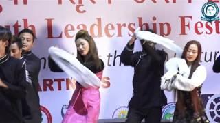 Repeat youtube video Monpa Dance  by Arunachal  Pradesh students.