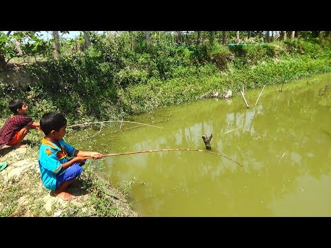 Best Fishing Video | Kids Fishing By Daily Village Life (Part-30)