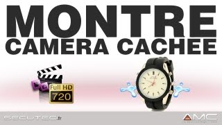 MONTRE DE VILLE AVEC CAMERA ESPION HD 720P WATERPROOF MP3 [SECUTEC.FR]