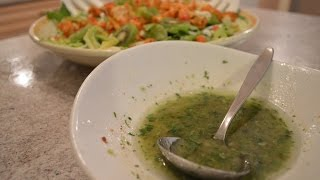 How To Make Cilantro Lime Vinaigrette: Cooking With Kimberly