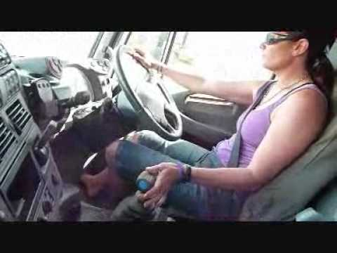 My Girlfriend Driving The Tilt Tray Youtube