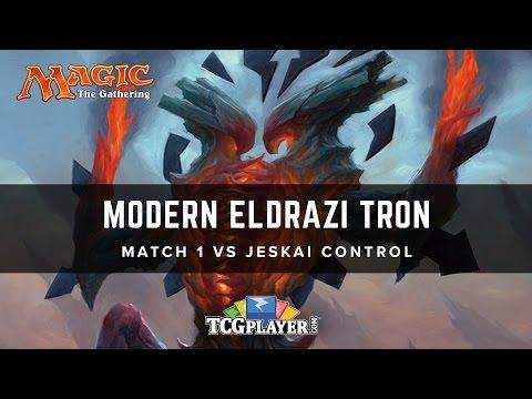 [MTG] Modern Eldrazi Tron | Match 1 VS Jeskai Control