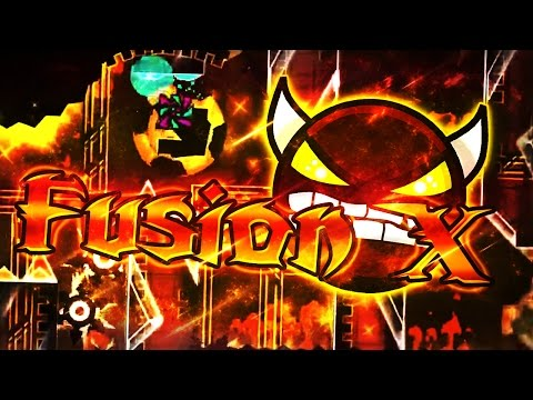 Geometry Dash | FusionX | [DEMON] | By: TrueOmega | (On Stream)