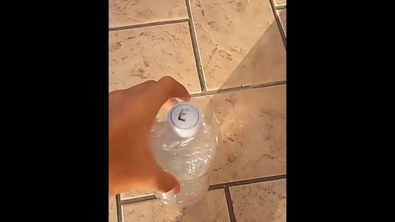 Luce con acqua e candegina youtube