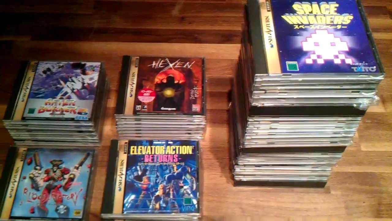 Sega Saturn Shooter Collection Youtube