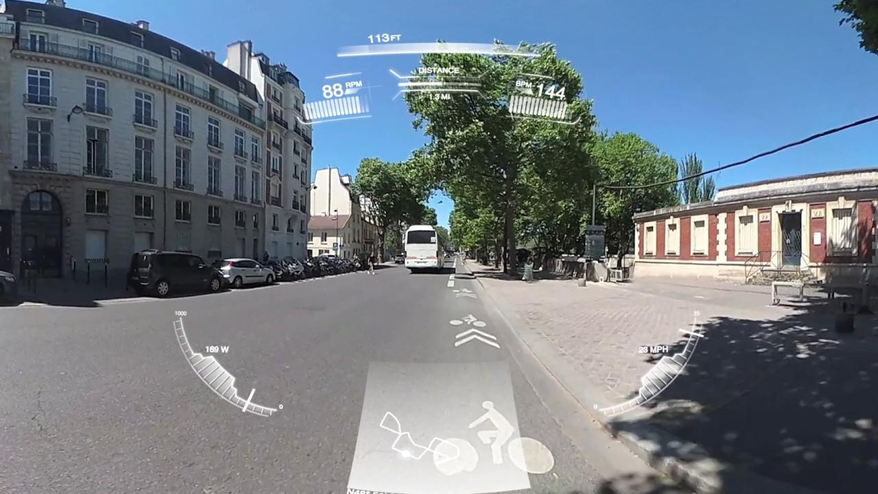 Garmin Virb 360 >> Garmin Virb 360 Sample Cycling Helmet Mounted Choose 4k Youtube