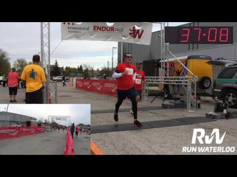 Economical ENDURrace 2017 finish line - 8 KM, 2.5 KM
