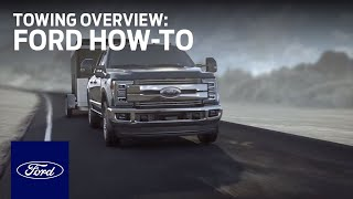 Towing Overview | F๐rd How-To | Ford