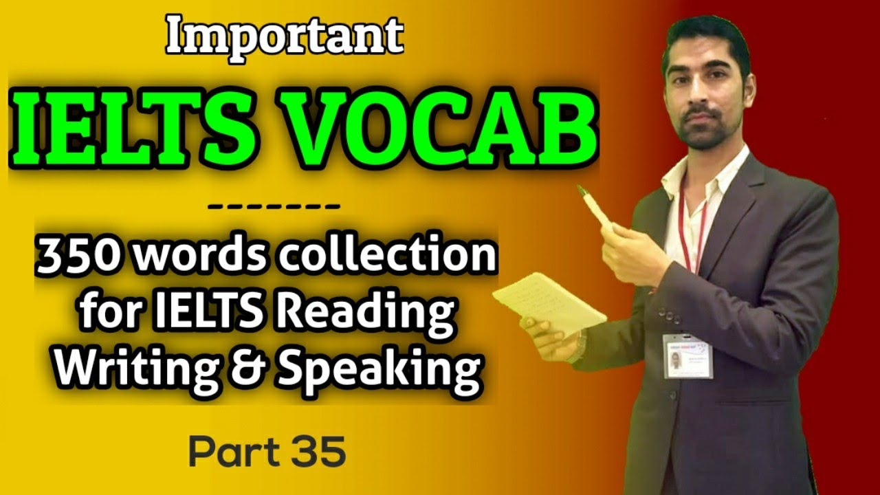 Important IELTS Vocabulary Part 35   Cambridge Reading Vocab   Important 350 Words Collection in PDF