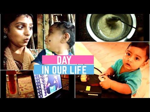 தமிழில்-what-ridhu-does-in-a-day-|-10-month-baby-food-&-activities