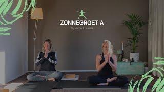 Zonnegroet A (Surya Namaskara A) @ BAM Lifestyle | YOGA & MEDITATIE door Mandy & Jessica