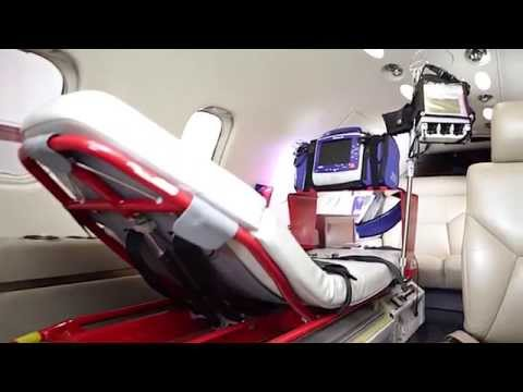 AeroCare Lear 35A Medical Transport Jet