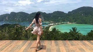 STUNNING KOH PHI PHI ISLANDS - Thailand DAY 5  | TRAVEL VLOG IV