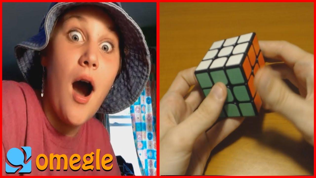 Solving Rubik's Cube on Omegle but I pretend I'm a beginner 2