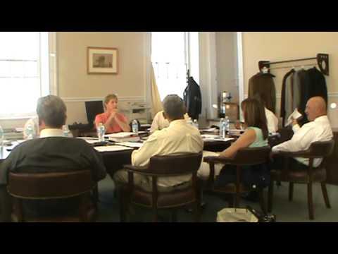 Salem County Freeholder workshop meeting sept 19 2012 part 1 of 2
