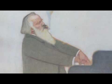 Johannes Brahms. Talks and Plays. Best Sound. Edison Phonograph