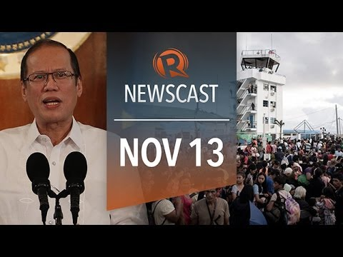 Rappler Newscast: Typhoon Haiyan, Tacloban City damage, international aid
