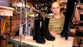 Как удалить солевые разводы с обуви. Уход за обувью. Ремонт обуви.(, 2013-12-03T11:32:46.000Z)
