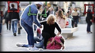 #56: Frapper SON HOMME en public (Exp. Sociale )