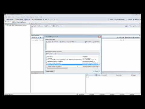 How to capture wireless packets in windows