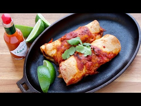 Enchiladas | The Buddhist Chef