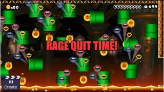 A Super Mario Maker Designed To Make You Rage! Welcome To MCWs Ultimate RAGE CASTLE!
