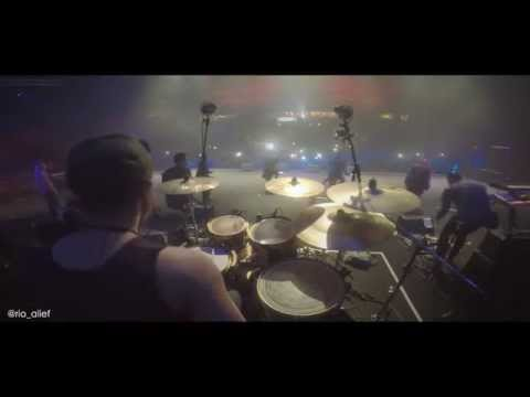 RIO ALIEF - Flying High by Agnezmo (Drum Cam JJF 2014)