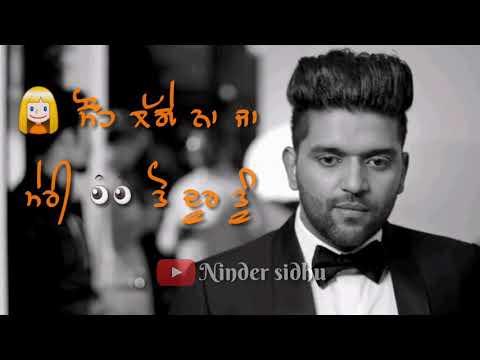 Khat Guru Randhawa sad punjabi song whatsapp status video and lyrics video