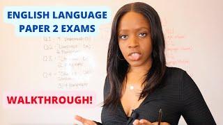 AQA English Language Paper 2 Walkthrough: Mind Map On How To Answer Paper 2 | Narrator: Barbara Njau