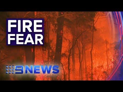 NSW Bushfires: Fire Crews On Edge With Worsening Conditions | Nine News Australia