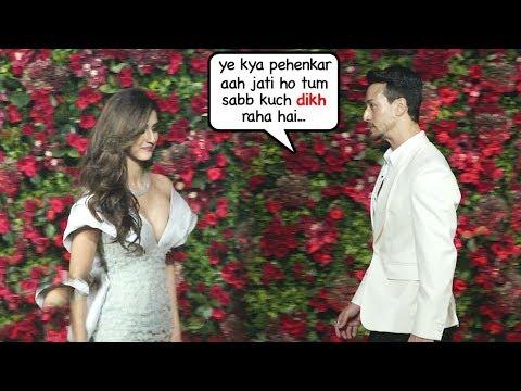 Tiger Shroff Again FIGHTS With Girlfriend Disha Patani At Ranveer Deepika WEDDING reception thumbnail