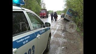 Водитель рейсового автобуса застрял на обочине дороги в Хабаровском районе. MestoproTV