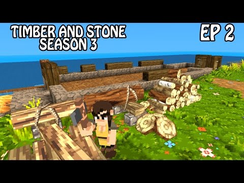 Working the Foundation | Timber and Stone Gameplay | Part 2