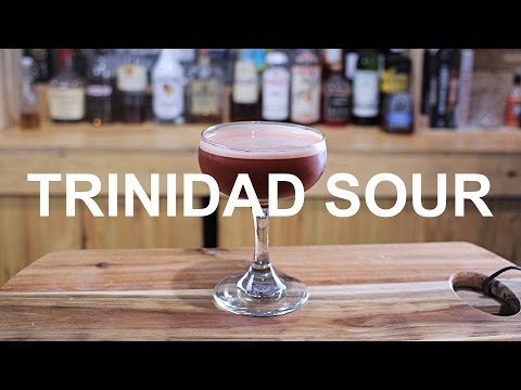 Trinidad Sour Cocktail Recipe - ANGOSTURA BITTERS!!