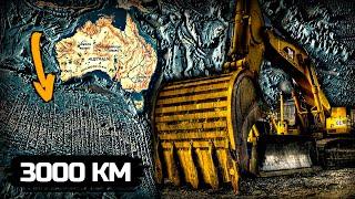 Земля — это выработанный карьер иной цивилизации! Следы огромной техники на дне океана