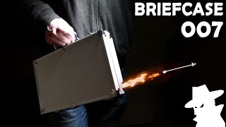 Homemade 007 Dart Gun Briefcase! - Incredible Spy Device In Real Life!!!